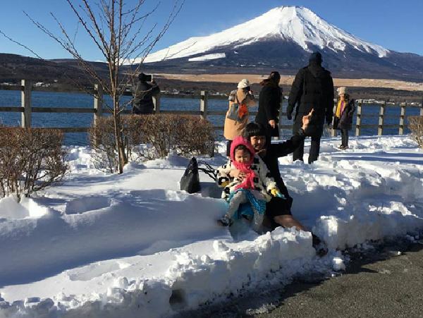 Tuyết trắng phủ khắp Nhật Bản vào mùa đông